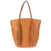 Bolsa Shopping Bag Seanite - Caramelo U