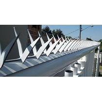 Lança Protetora P/ Muros Grades Ou Portões, Aço Galvanizado