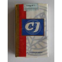 Marquilla Cigarrillos Cj (caja Blanca) X20 Full Abierto