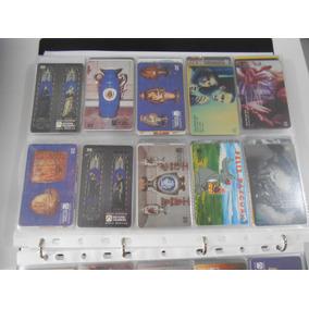 Cartões Telefônicos Usados Serie Museus