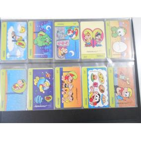 Cartões Telefônicos Usados Serie Turma Da Monica