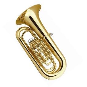 Tuba Weril Sinfônica J981 Dourada + Capa Luxo - Nova !!!
