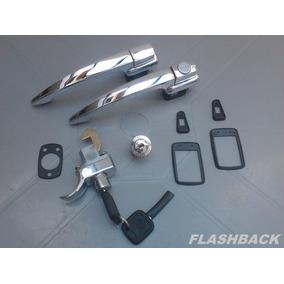 Kit Maçanetas/cilindros/miolos - Fusca 68 A 77 (mesma Chave)