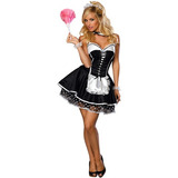 Disfraces De Halloween Adultos De Mucama Coqueta