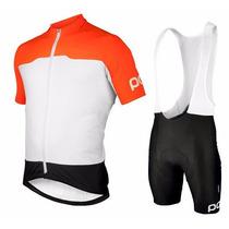 Uniforme Ciclismo Poc 2016 Jersey + Short Bib, Bici Ruta Mtb