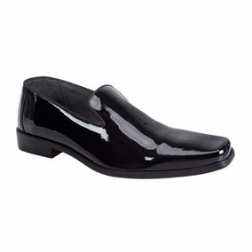 Zapato Charol Schatz Piel Suela Cuero A Msi