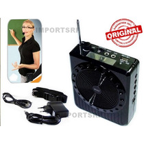 Amplificador Megafone Microfone P/ Professores Frete Grátis