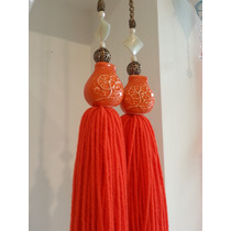 Borlas Decorativas Bellas P/cortinas O Ventanas - Rupicora