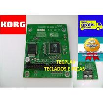 Placa Do Card Sd Teclado Korg Pa50sd Frete Grátis S/ Juros