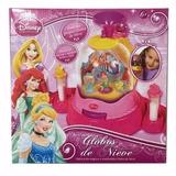 Fábrica Mágica De Globos De Nieve Disney Princesas Giro Di