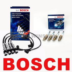 Kit Cabos E Velas Bosch Fox Gol G5 Voyage 1.0 8v Totalflex