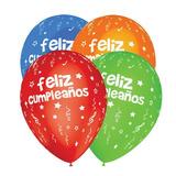 Globos Feliz Cumpleaños X 25 Unidades - Cienfuegos