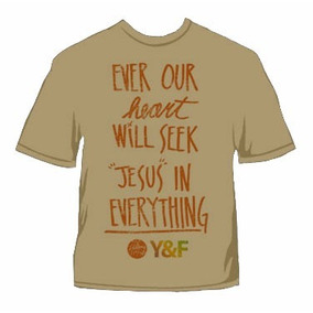 Camiseta Hillsong - Y&f- Moda Gospel Revenda