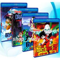 Coleccion 4 Peliculas Dragon Ball Blu-ray Español Latino
