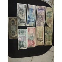 Lote De Billetes Antiguos Mexicanos Y Extranjeros