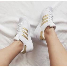 adidas Superstar Doradas Originales En Stock 36