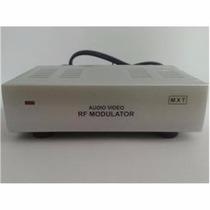 Mini Modulador Rf, Áudio E Vídeo, Bivolt - Mxt