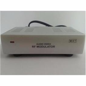 Mini Modulador Rf, Áudio E Vídeo, Bivolt