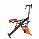 Magic Crunch Pro Con Bicicleta Fija Evolution Mcevo-yx9013