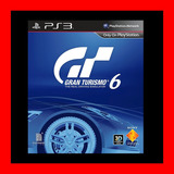 Gran Turismo 6 Ps3 Digital Oferta !!!