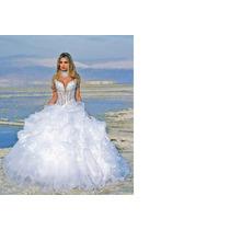 Vestido De Noiva Novo! Ma-ra-vi-lho-soooo...