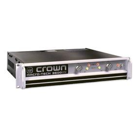 Crown Macro Tech 3600vz Amplificador