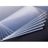 Chapa Placa Acrilico Cristal Transparente 50x50cm 2mm