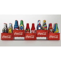 Coleção Mini Garrafinhas Coca-cola Copa Do Mundo 2014