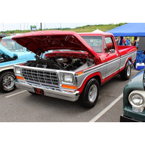Hule Parabrisas Y Medallon Ford Pick Up 1973 Al 79 Ranura