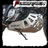 Cubrecarter Suzuki Vstrom 650 1000 Chapon Aluminio Pulido