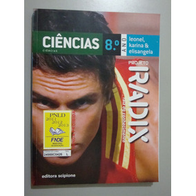Livro Ciências - 8º Ano - Projeto Radix