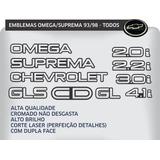 Letreiro Unidade Omega Suprema 2.2, 4.1, 2.0, 3.0, Cd, Gls