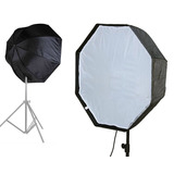 Oferta!! Softbox Octagonal 80cm Octobox Fotografía Y Video