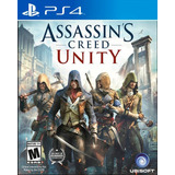 Assassins Creed Unity Ps4 Nuevo Original Domicilio