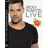 Dvd Ricky Martin - Festival Viña Del Mar 2014 - Mas