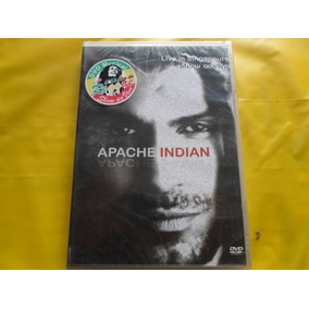 Dvd Apache Indian Live In Singapure / Novo