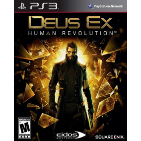 Deus Ex Human Revolution Ps3 Playstation 3 Nuevo Y Sellado