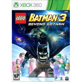 Lego Batman 3 Beyond Gotham Português Mídia Física Xbox 360