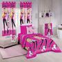 Edredom Solteiro Barbie Royal Rock - Santista