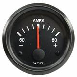 1 Indicador Marcador Reloj Amperimetro 60a Universal Vdo