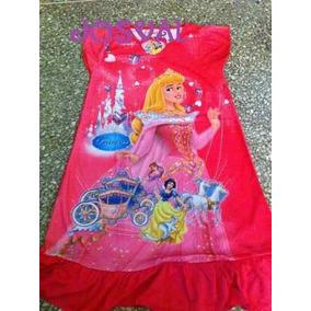 Batas Dormilonas Blusas Disney Princesas Dora Rapunzel Ariel