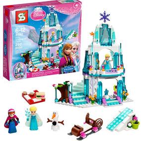 Castelo Frozen Princesa Elsa Ana Brinquedo P/ Montar 314 Pç