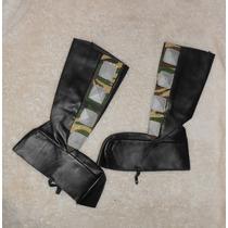 Padrísimas Botas Para Disfraz, Tipo Militar Camuflaje, 20cm!