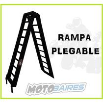 Rampa Plegable Para Moto Y Cuatriciclo Super Reforzada 2.10
