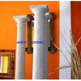 Columna Cemento Toscana Lisa 2.25 Fabrica