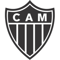 Adesivo Escudo Clube Atlético Mineiro Galo 5cm Frete Grátis