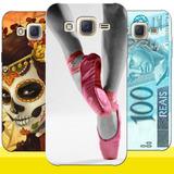 Capa Personalizada P/ Samsung Galaxy J5 J500 + Frete Grátis