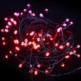 Extensiónes Luces Led 111 Navidad 5m C/u Lleve 2x1 Rojo