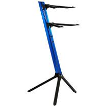 Estante Suporte Duplo Teclado Slim 1100/02 Stay Azul C/ Bag