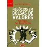 Livro Negócios Em Bolsas De Valores Prof. Valdir Lameira